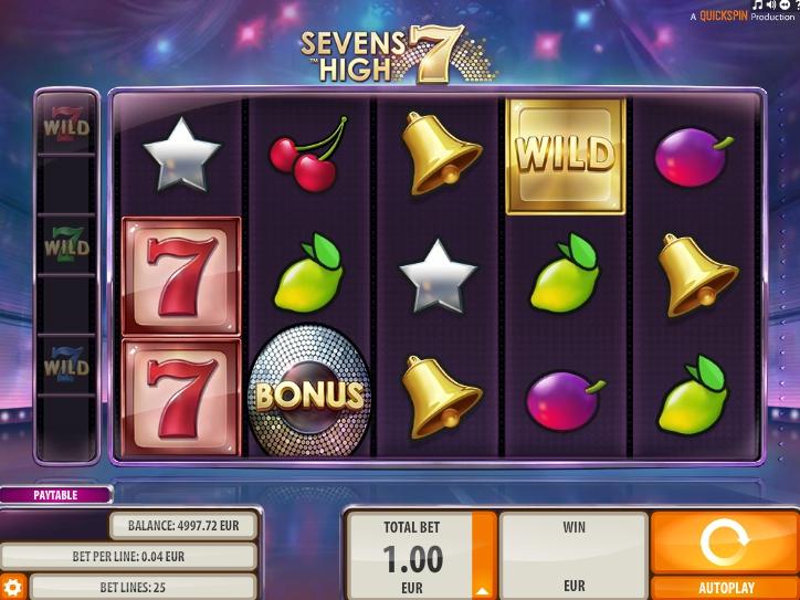 seven 7 high