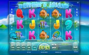 Игровой автомат Dolphins Island