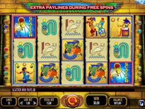 Игровой автомат Pharaohs Fortune