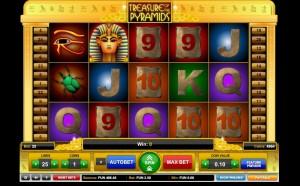 Игровой автомат Treasures of the Pyramids