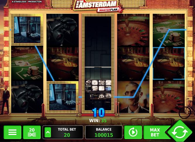 Игровой автомат Amsterdam Master Plan 3d