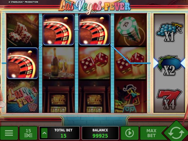Игровой автомат Las Vegas Fever