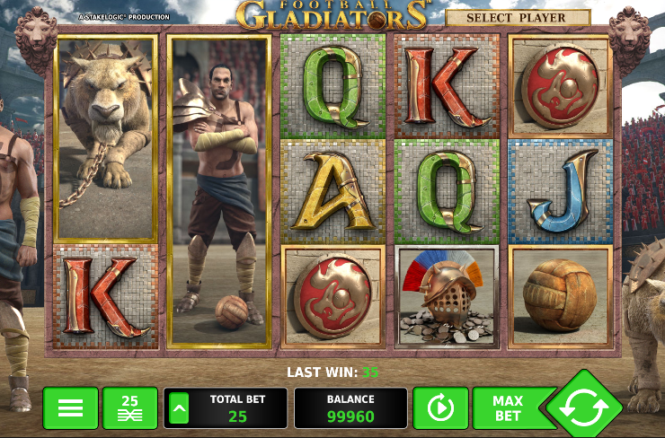 Игровой автомат Football Gladiators