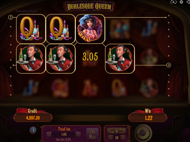 Игровой автомат Burlesque Queen