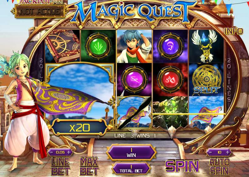 Игровой автомат Magic Quest